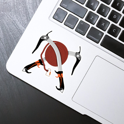 Ice Axes Sticker - HackStickers
