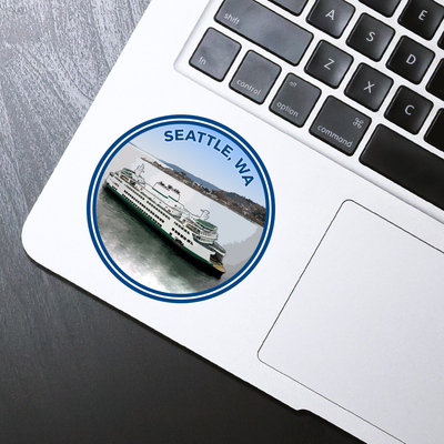 Washington State Ferry Sticker - HackStickers