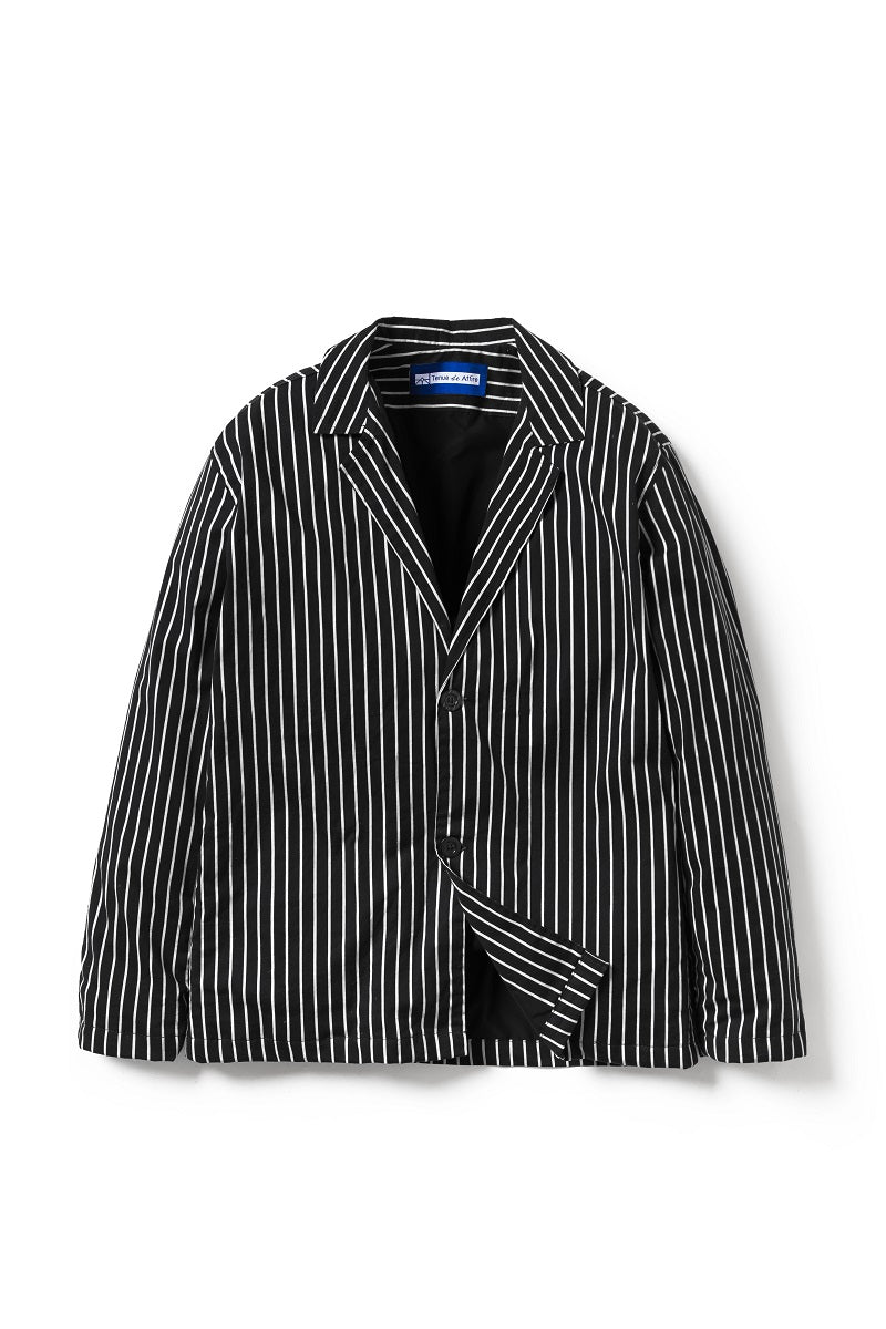 Artisan Stripes Blazer in Black - Tenue de Attire