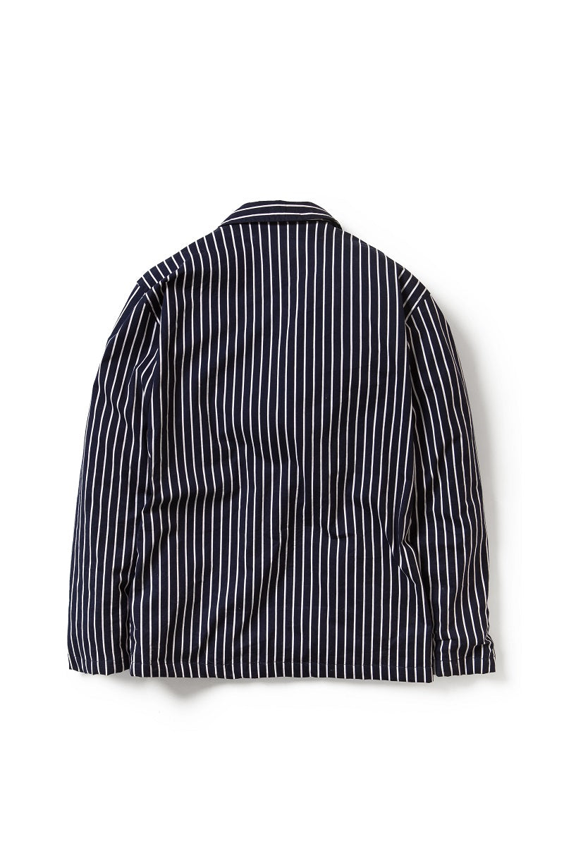 Artisan Stripes Blazer in Navy - Tenue de Attire