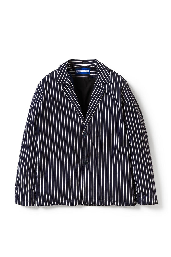Artisan Stripes Blazer in Navy