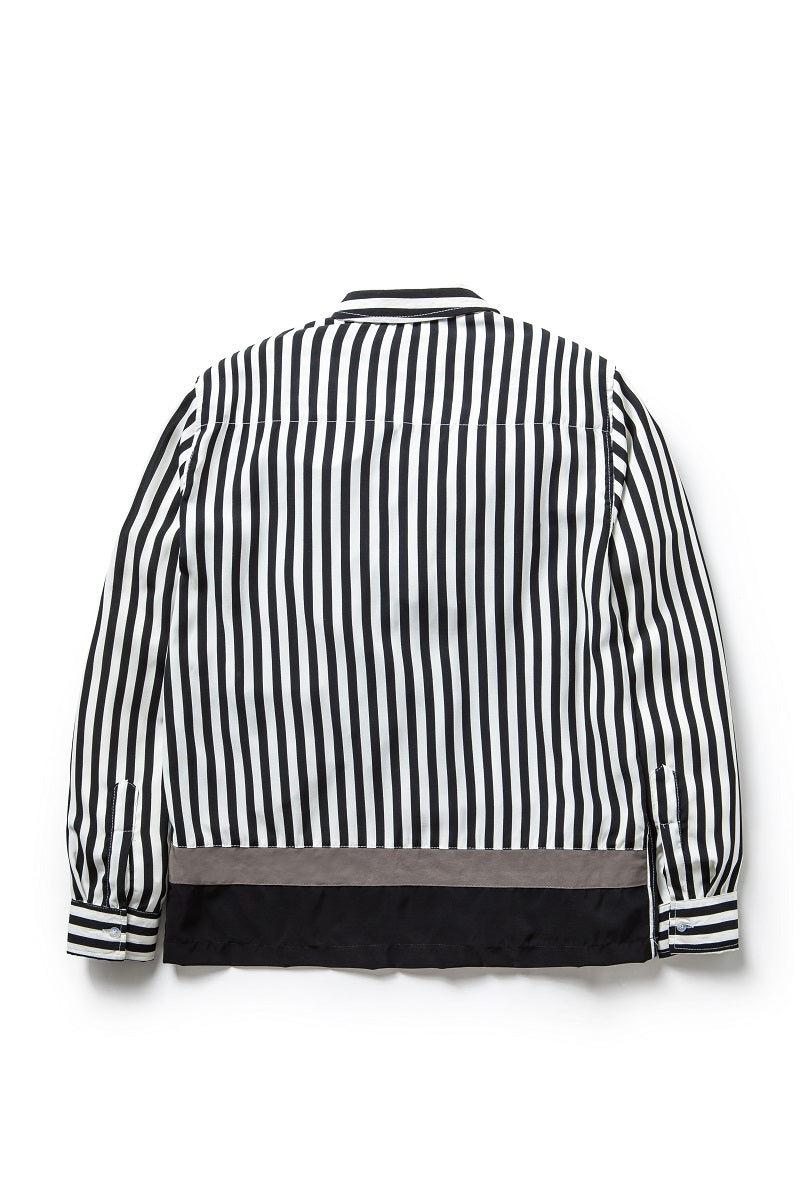Atelier Stripes Shirt in Black - Tenue de Attire