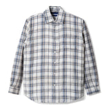 Bilbao Flannel Long Sleeve Shirt Grey Square