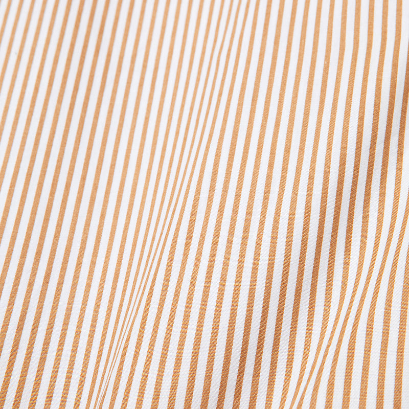 Peinture Stripes Long Sleeve Mustard Shirt