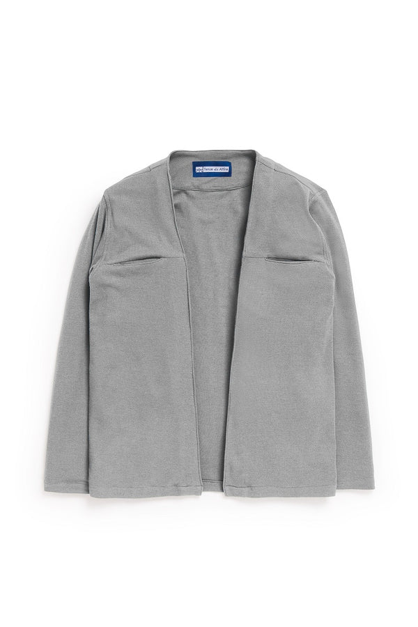 Parisian Monsieur Kimono in Grey - Tenue de Attire