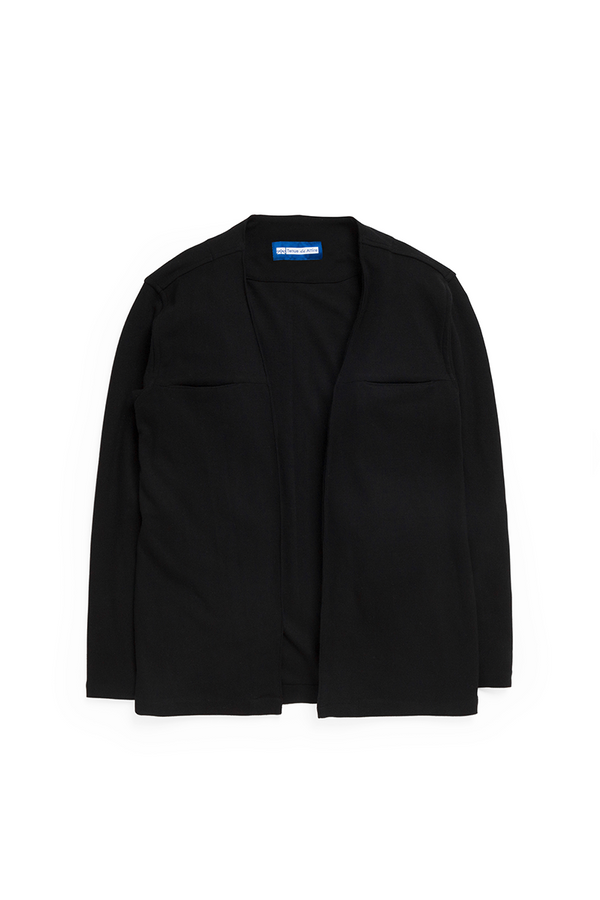 Parisian Monsieur Kimono in Black - Tenue de Attire