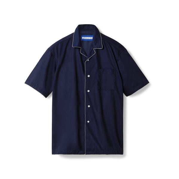 All Day Pajamas Navy Short Sleeves