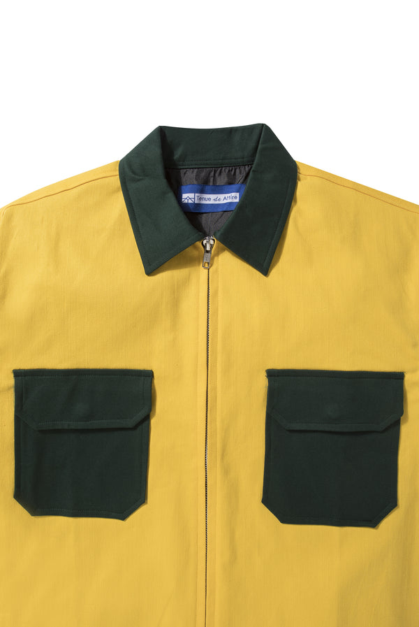 Veste Colorée Yellow Navy Jacket