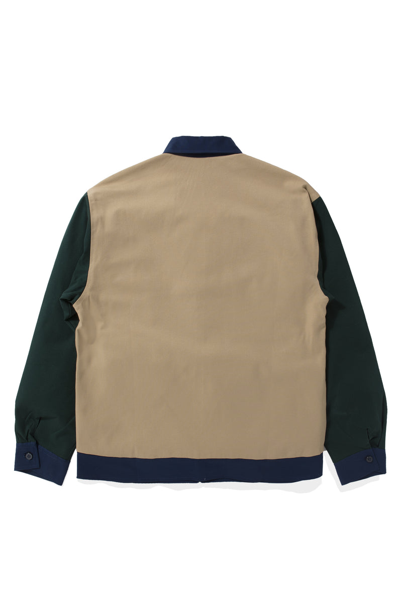 Veste Colorée Cream Green Jacket