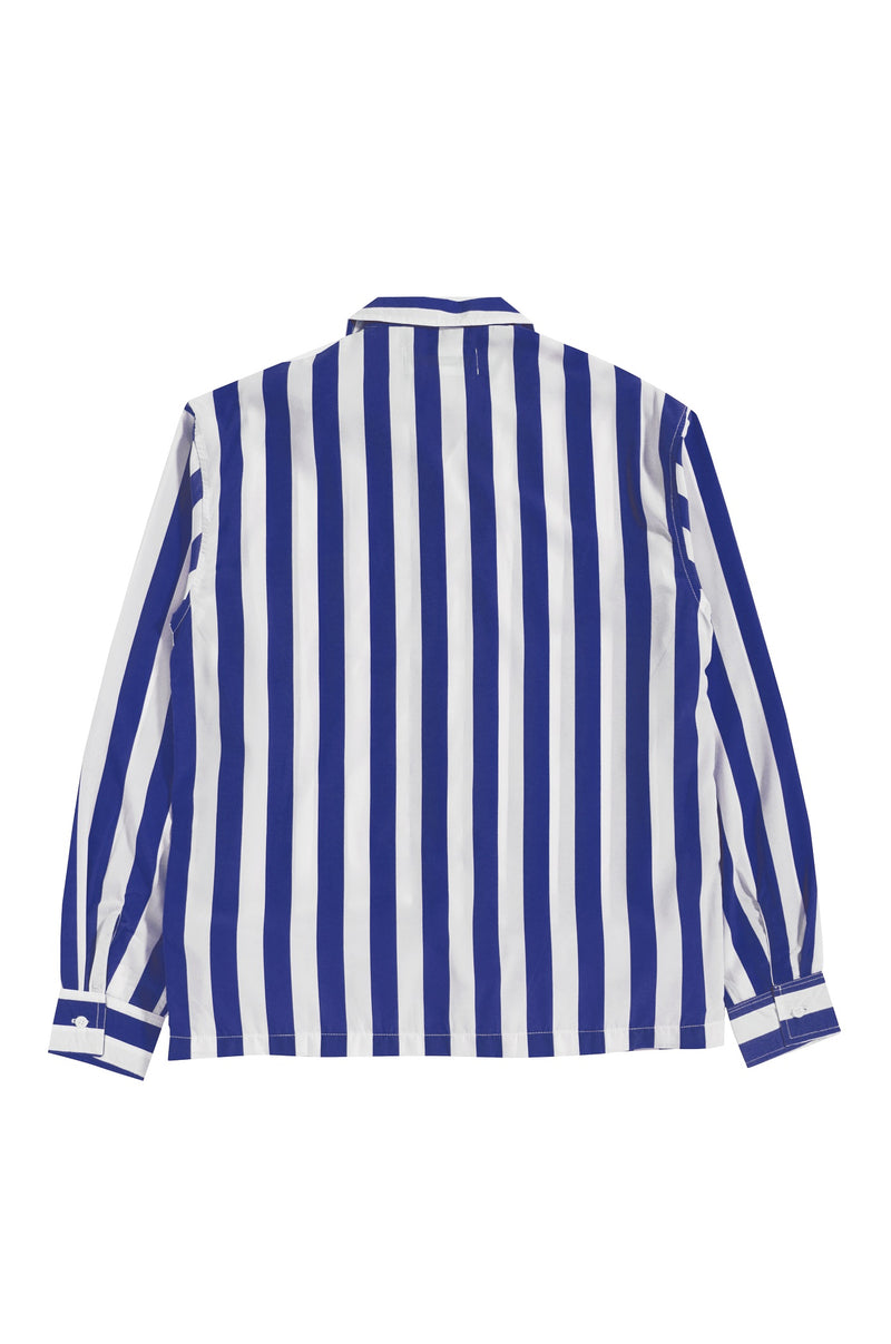 Les Rayures Benhur Blue Bowling Long Sleeve - Tenue de Attire