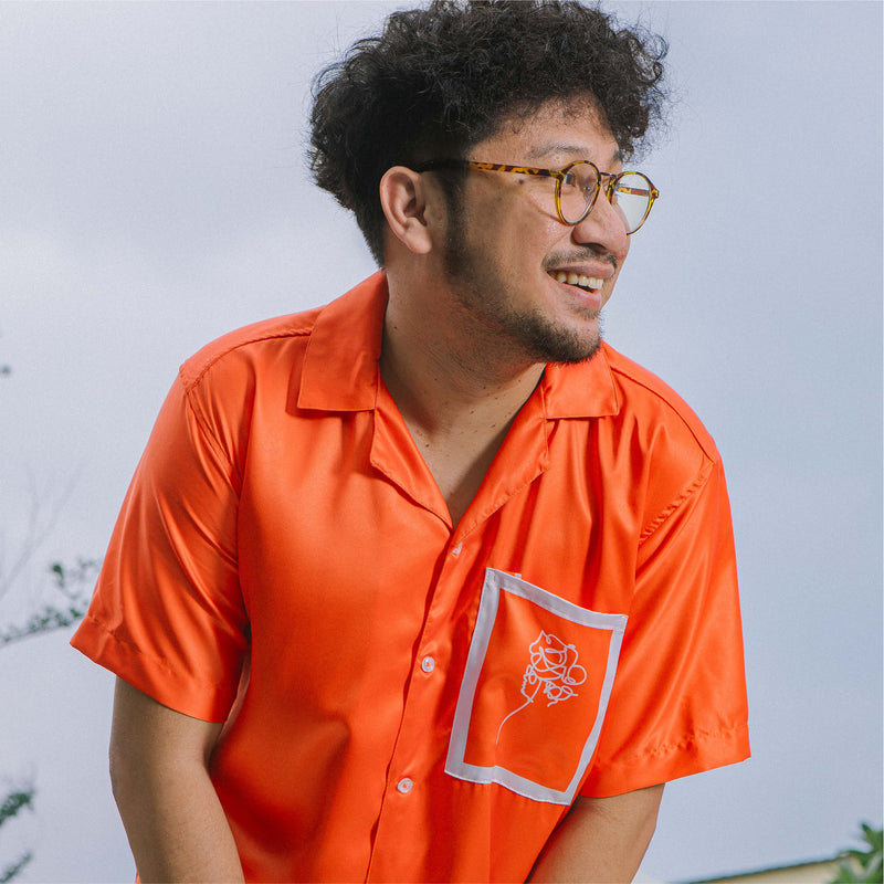 Intention Orange Shirt