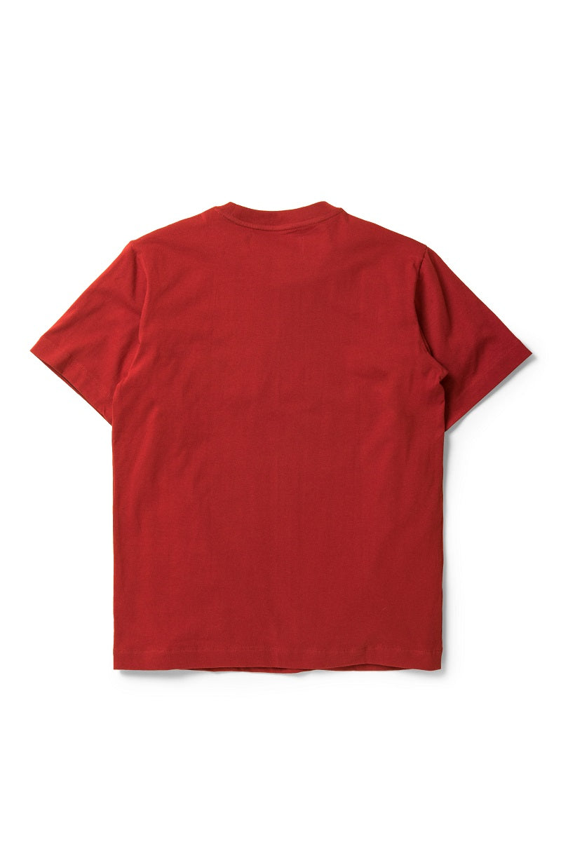 Les Pommes Tees in Red