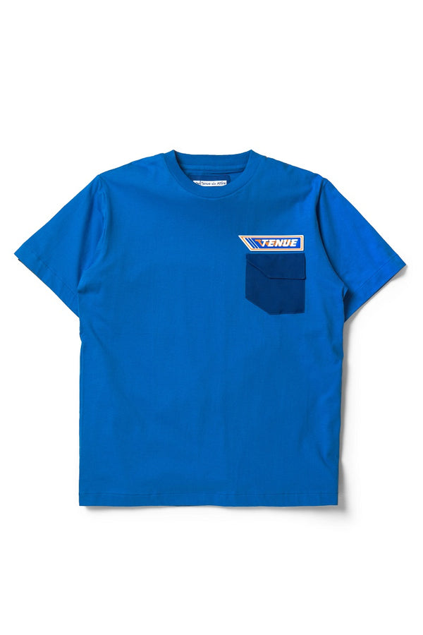 Les Pommes Tees in Blue