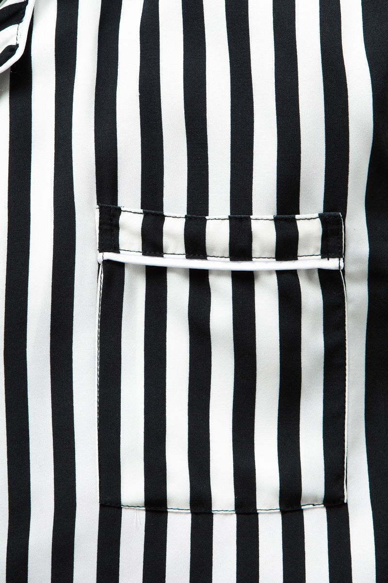 Sein Stripes Pajamas in Black - Tenue de Attire