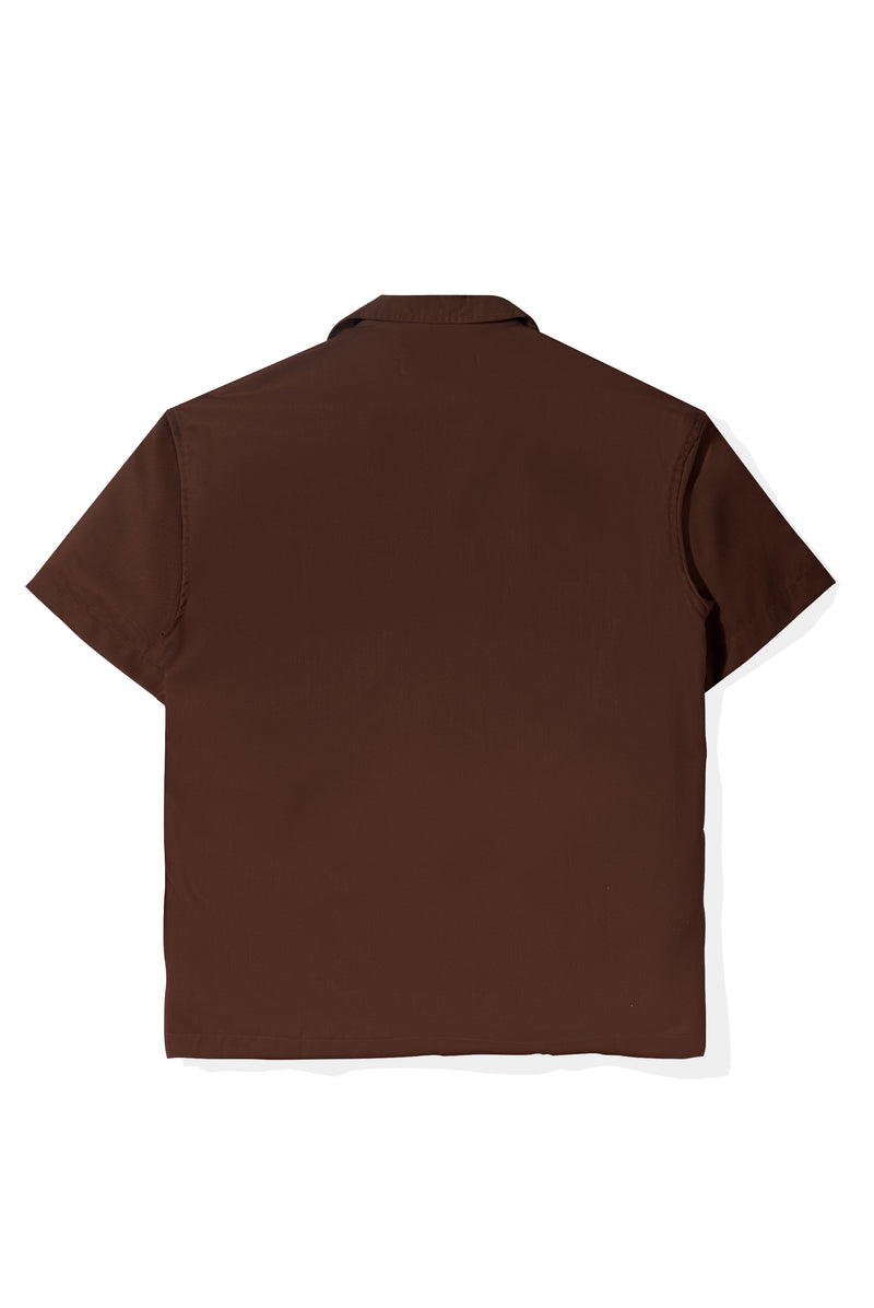 Chemise Colorée Brown Shirt Short Sleeve