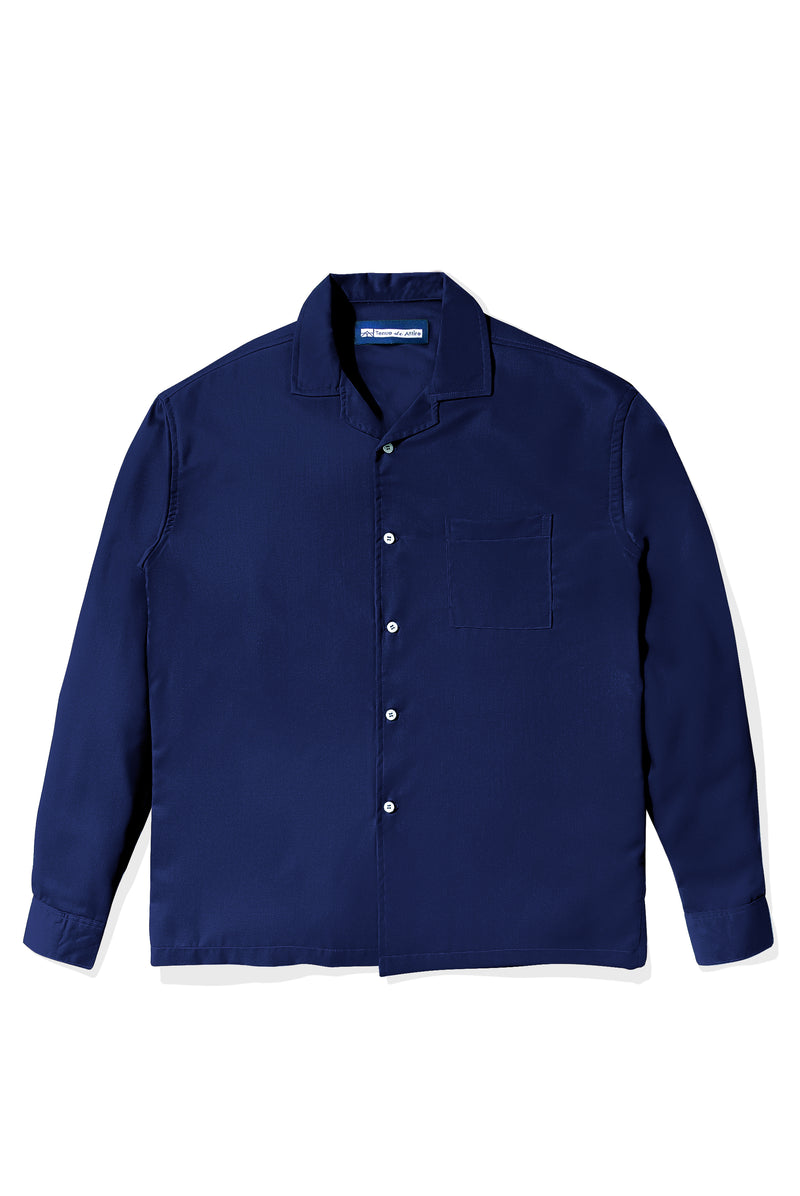 Chemise Colorée Blue Shirt Long Sleeve