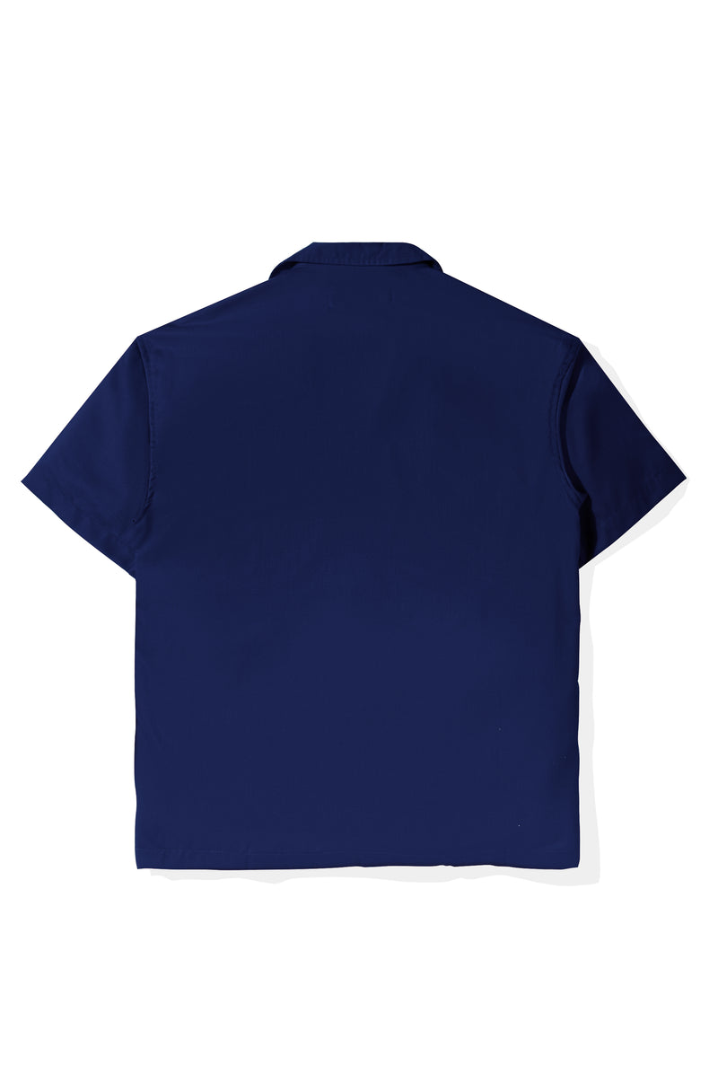 Chemise Colorée Blue Shirt Short Sleeve