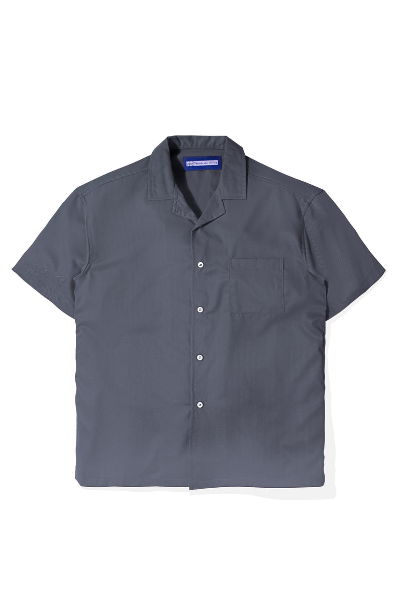 Chemise Colorée Grey Shirt Short Sleeve