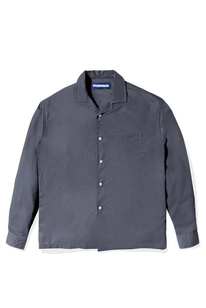 Chemise Colorée Grey Shirt Long Sleeve