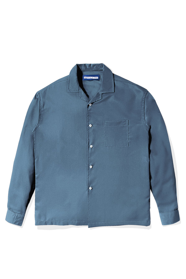Chemise Colorée Sky Blue Shirt Long Sleeve