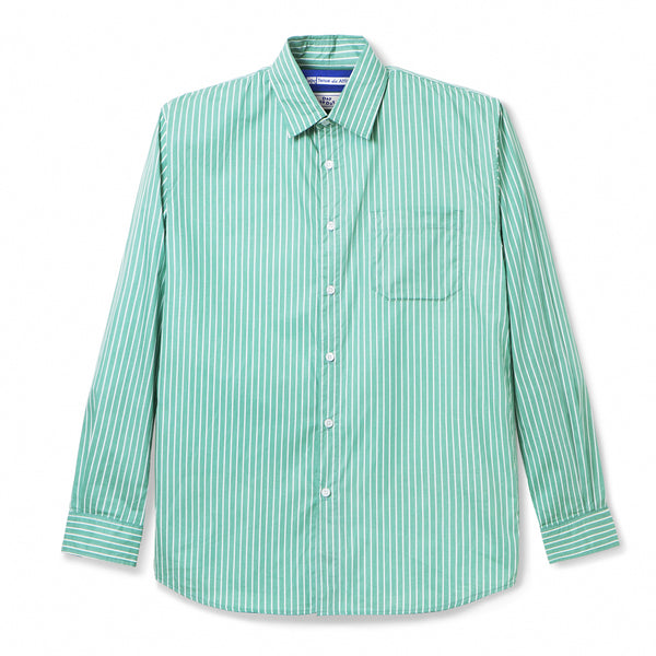 Bofill Stripes Long Sleeve Green White Shirt