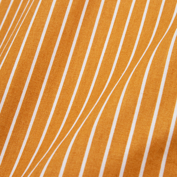 Bofill Stripes Long Sleeve Mustard White Shirt