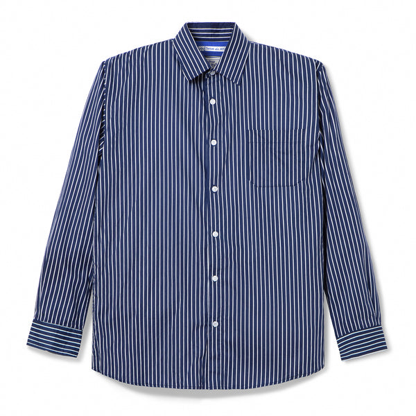 Bofill Stripes Long Sleeve Navy White Shirt