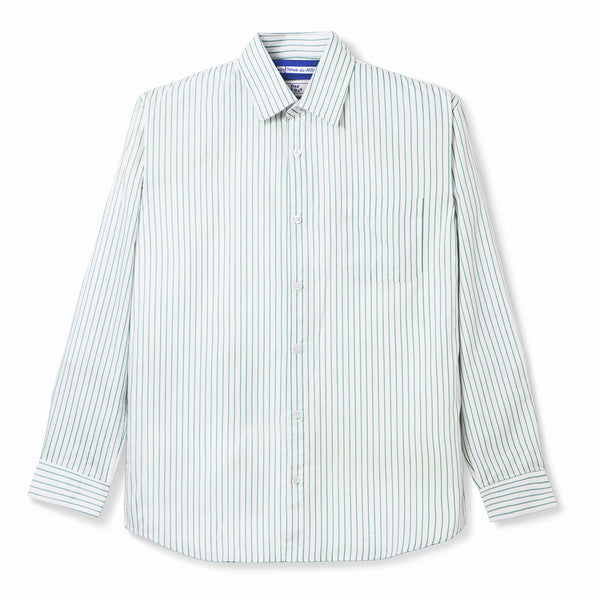 Bofill Stripes Long Sleeve White Green Shirt