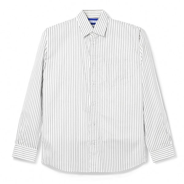 Bofill Stripes Long Sleeve White Grey Shirt