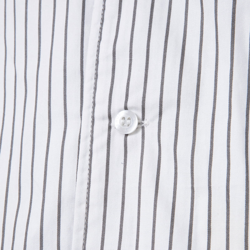 Bofill Stripes Short Sleeve White Grey Shirt
