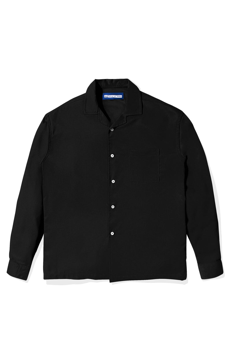 Chemise Colorée Black Shirt Long Sleeve