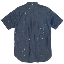 Load image into Gallery viewer, Comme Des Garcons Homme Paint Splatter Button Up <Br> Size Medium