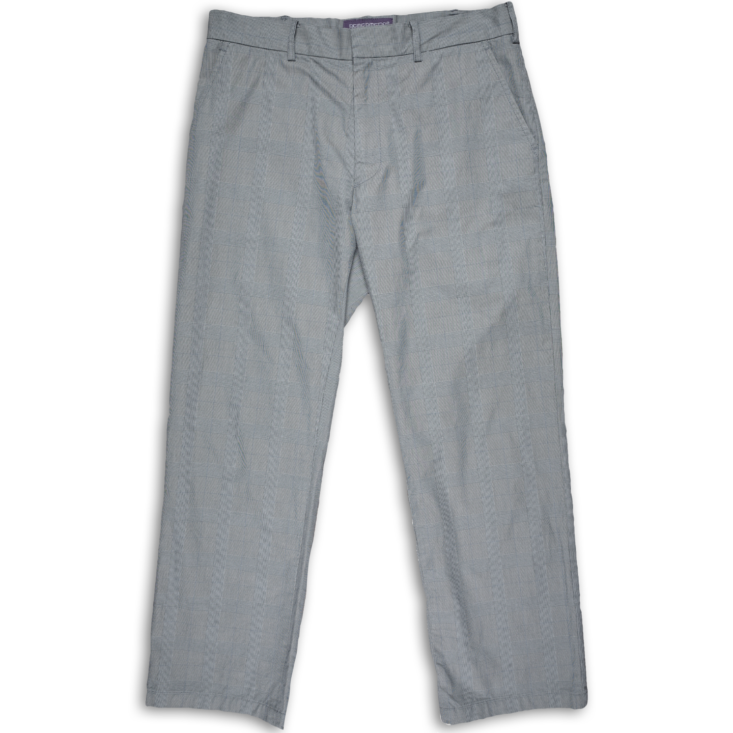 Nepenthes grey checkered trousers <Br> Size M