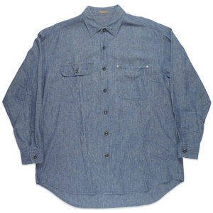 Y's For Men Oversized Denim Shirt <Br>  Size OS