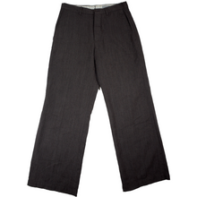 Load image into Gallery viewer, margaret howell brown wool trousers <Br> size medium