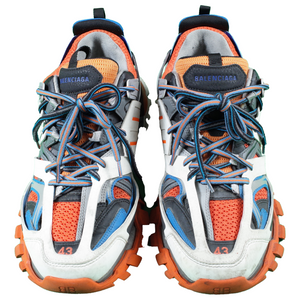 balenciaga track runners - orange blue <Br> size 43