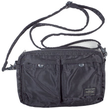 Load image into Gallery viewer, porter tanker shoulder bag small (black) <Br> size os