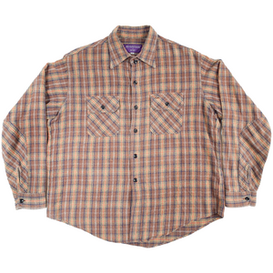 nepenthes brown flannel <Br> size medium