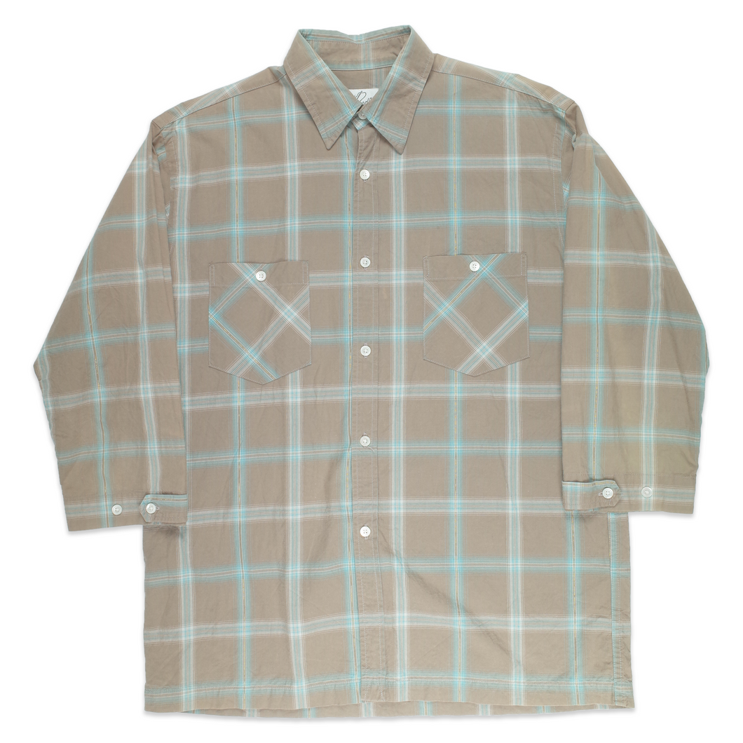 Needles 3/4 sleeve checkered Shirt <Br>  Size Medium
