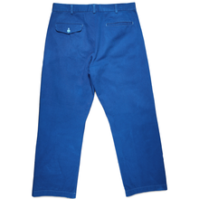 Load image into Gallery viewer, CDG Homme Blue Work Pants <Br> Size Medium