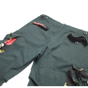 Nepenthes dark green floral cargos <Br>  Size 32