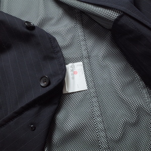 CDG Homme Striped Coat <Br>  Size Large
