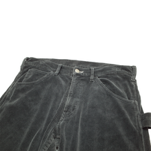 Load image into Gallery viewer, CDG Homme black corduroy trousers <Br>  Size XS