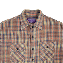 Load image into Gallery viewer, nepenthes brown flannel <Br> size medium