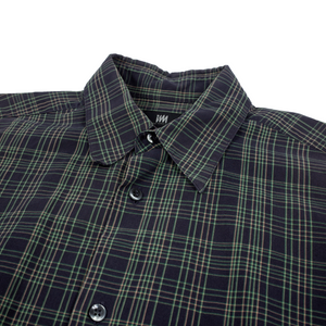 Issey Miyake Design Studio Checkered Shirt <Br> Size Medium