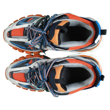 Load image into Gallery viewer, balenciaga track runners - orange blue <Br> size 43