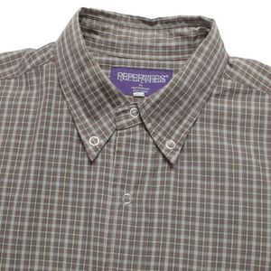 Nepenthes snap button short sleeve <Br>  Size Medium