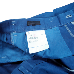 CDG Homme Blue Work Pants <Br> Size Medium