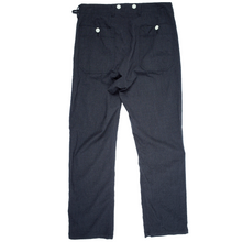 Load image into Gallery viewer, Visvim black wool trousers <br> Size Medium