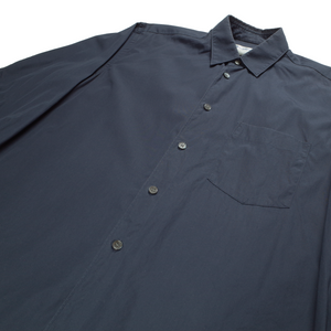 CDG Shirt navy long sleeve shirt <Br>  Size XS